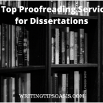 proofreading services for dissertations