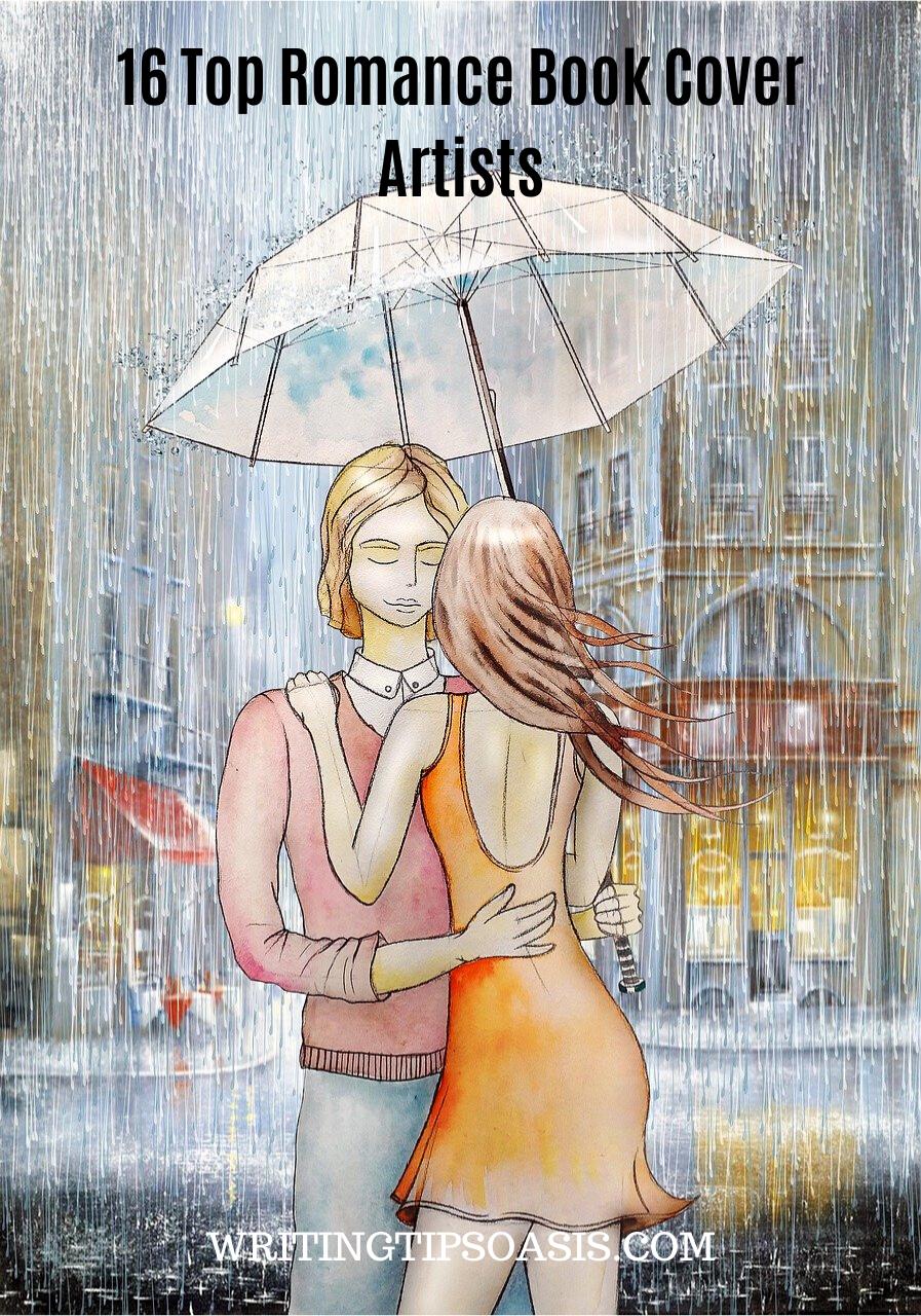 romance book cover designers