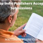 indie publishers accepting submissions