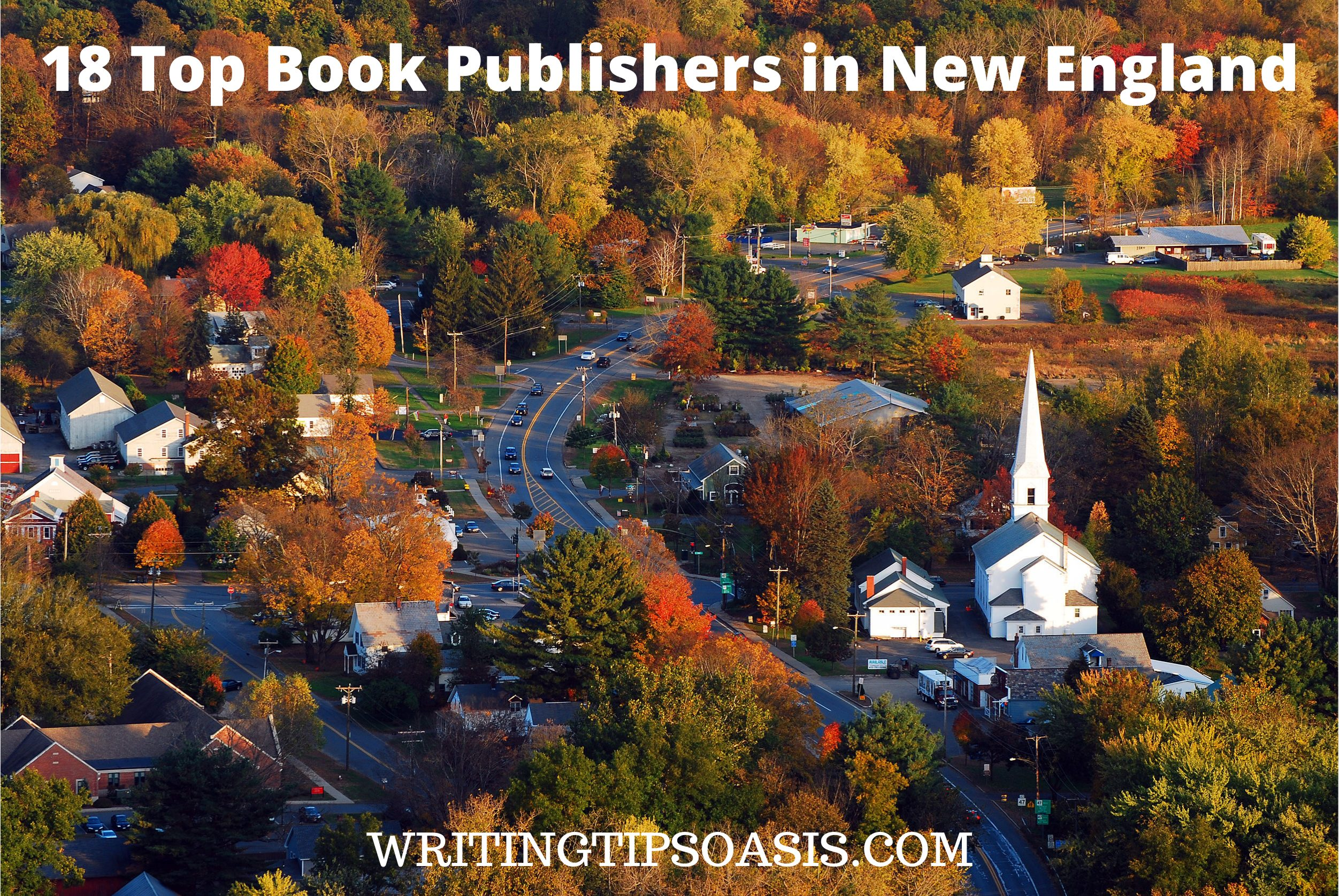 Book Publishers in New England
