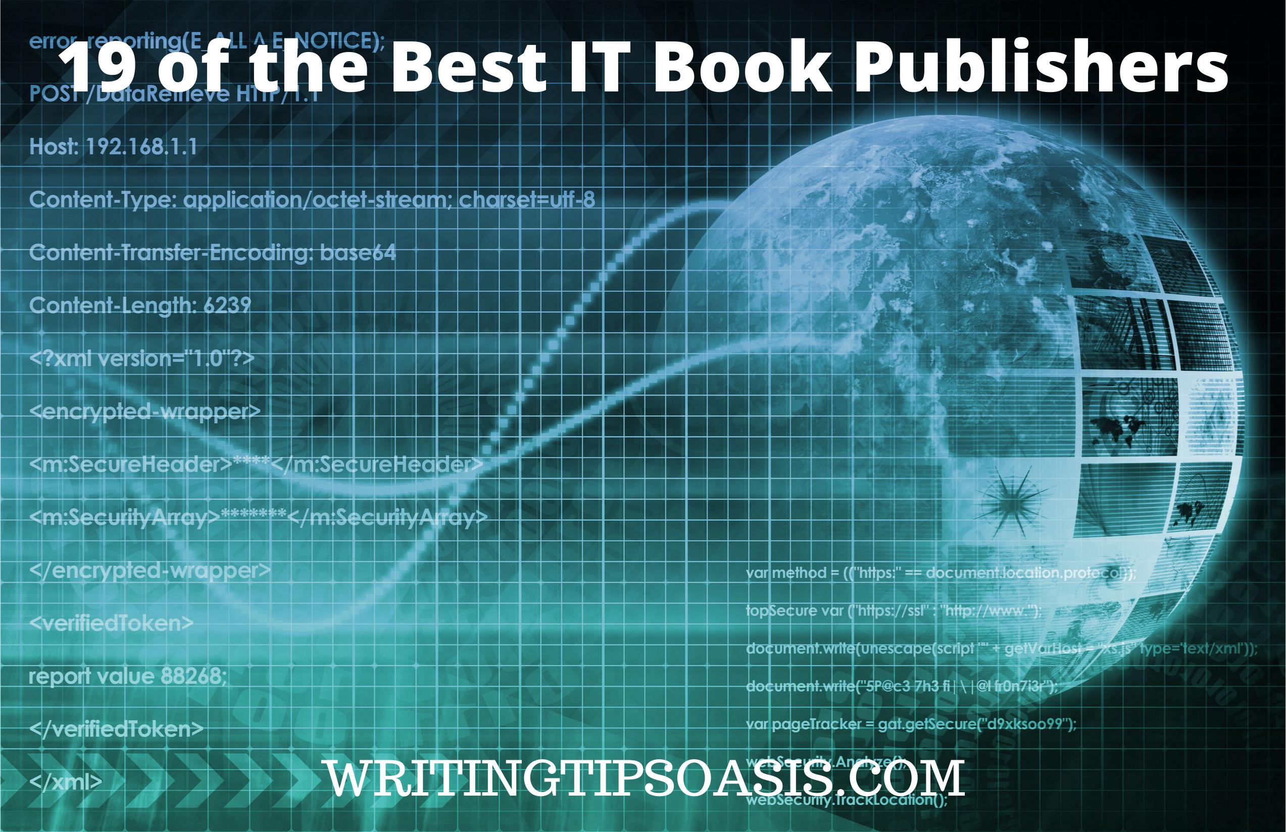 Best IT Book Publishers