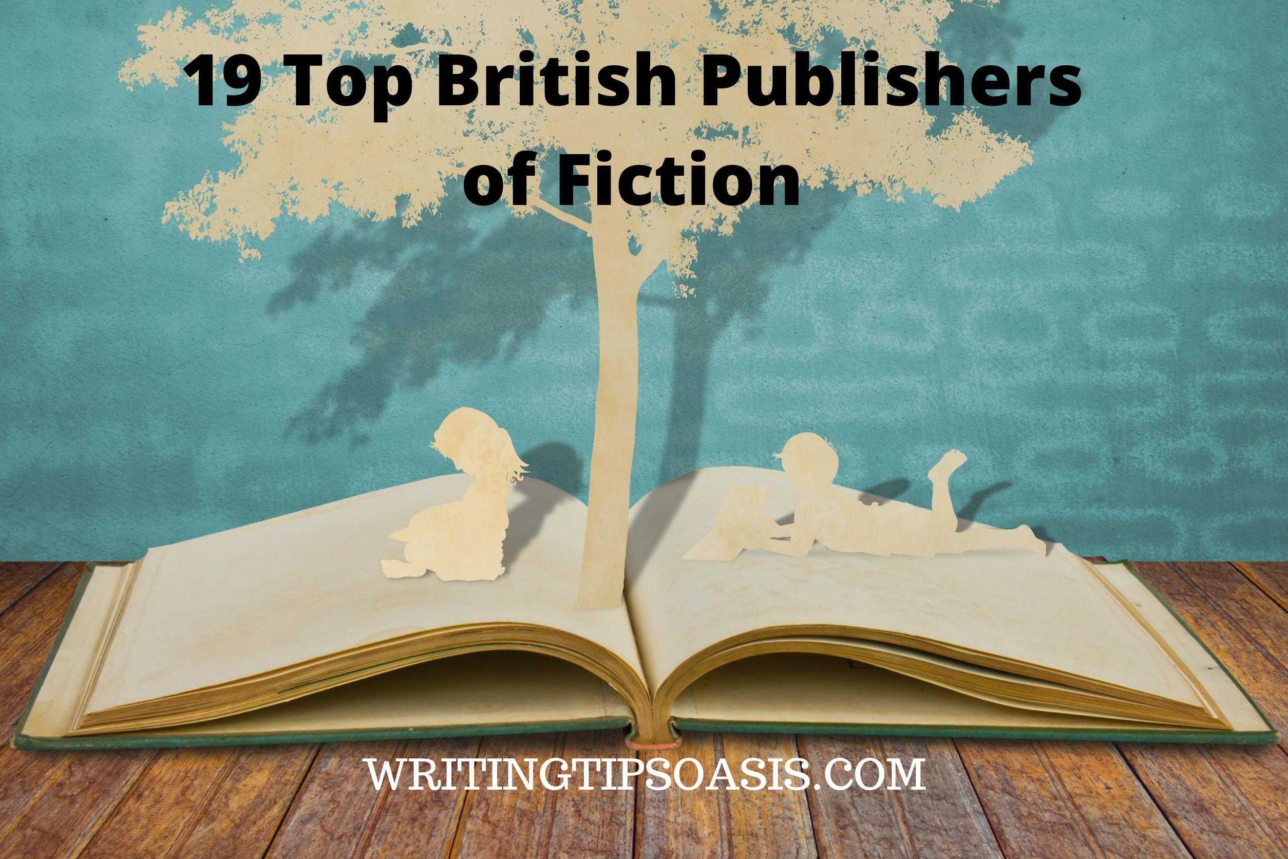 british publishers of fiction