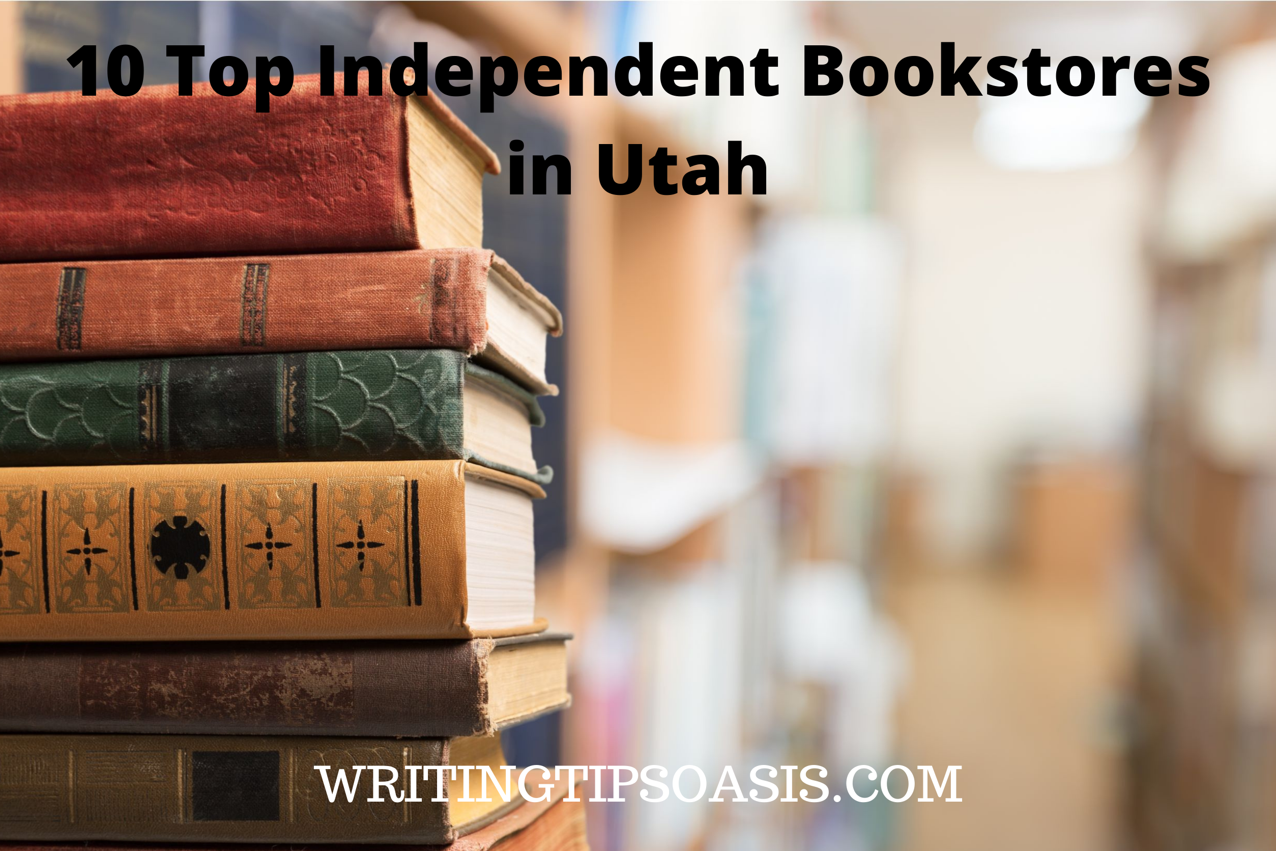 independent bookstores in Utah