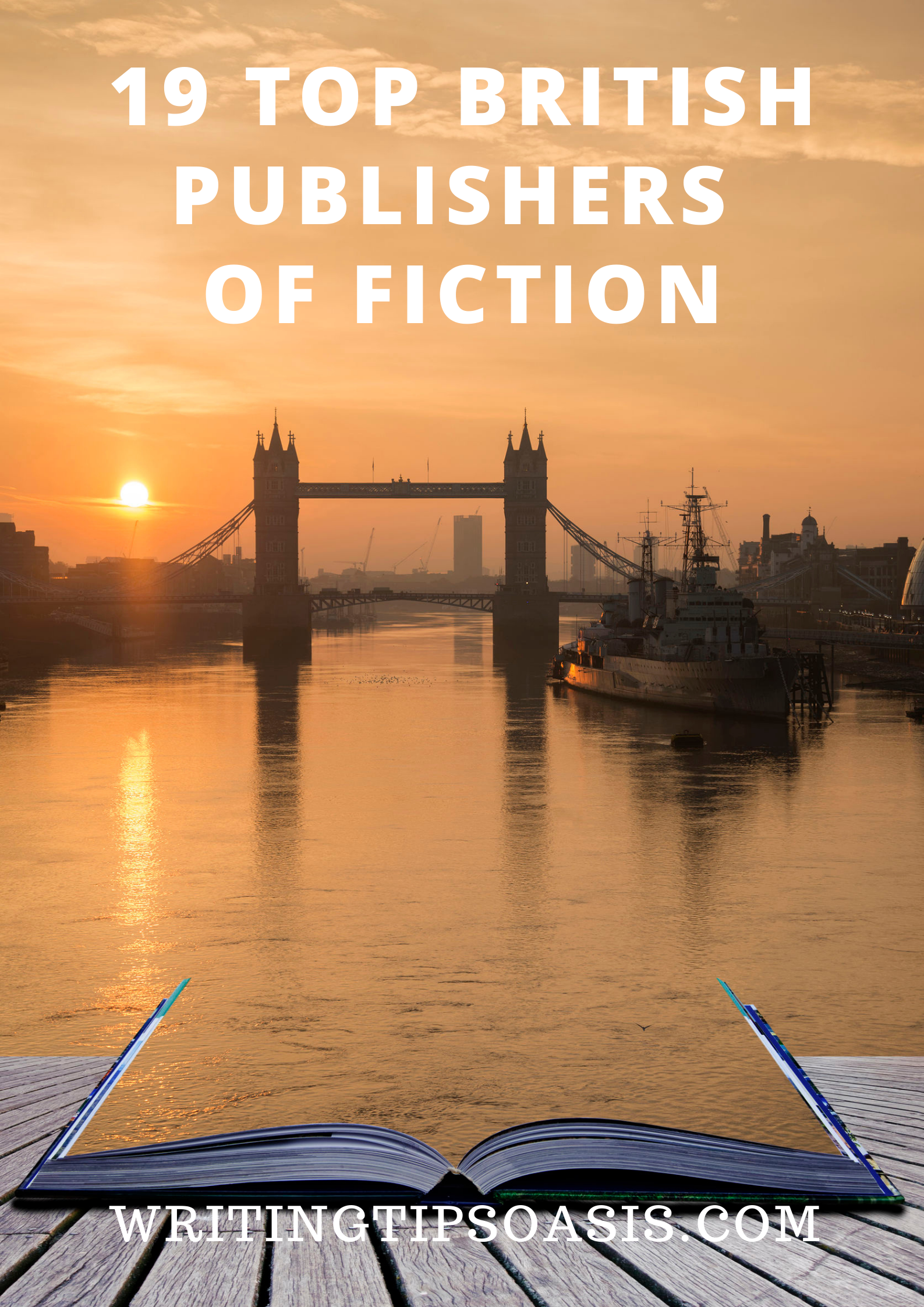 top british publishers of fiction