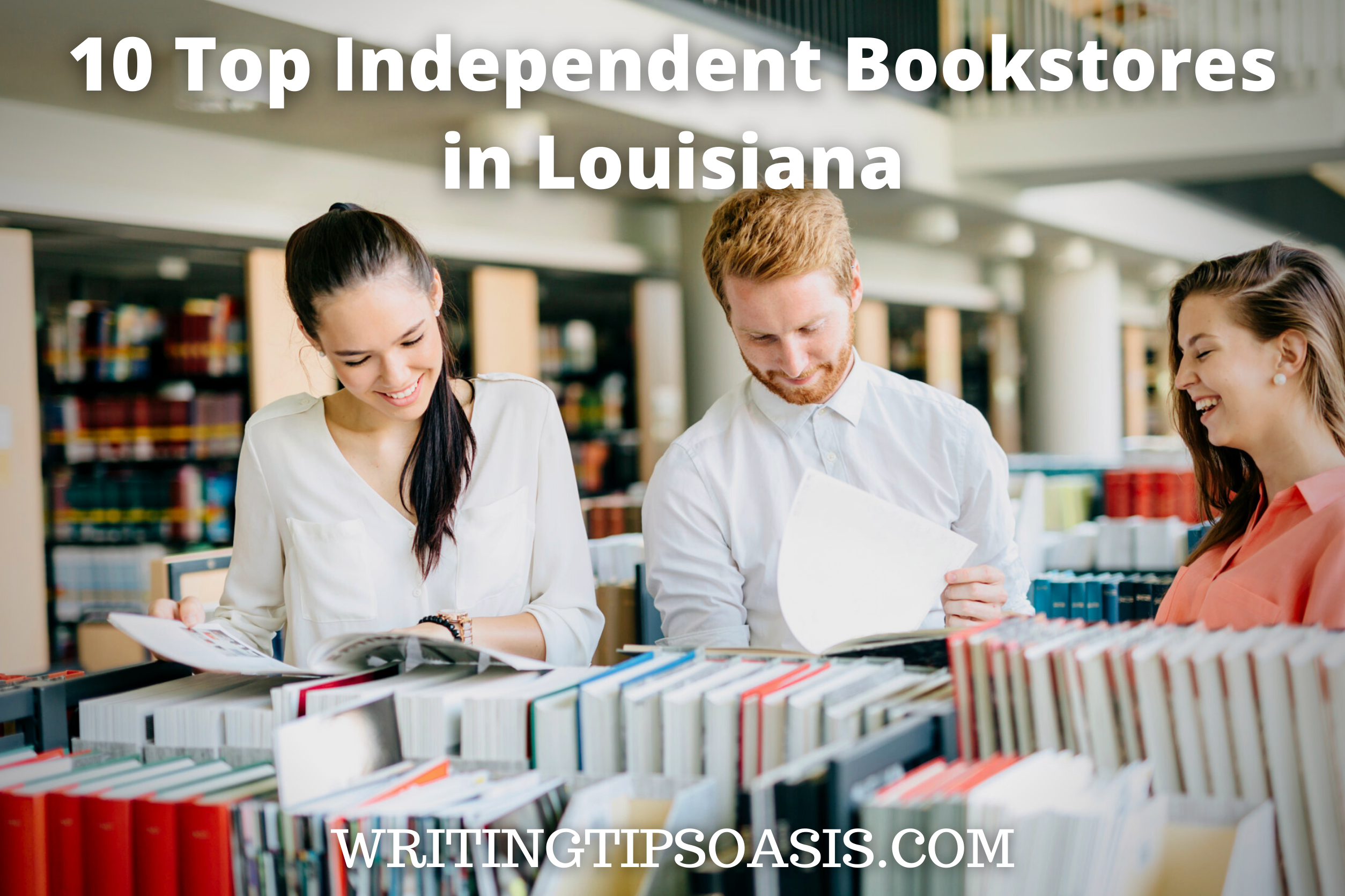 independent bookstores in Louisiana