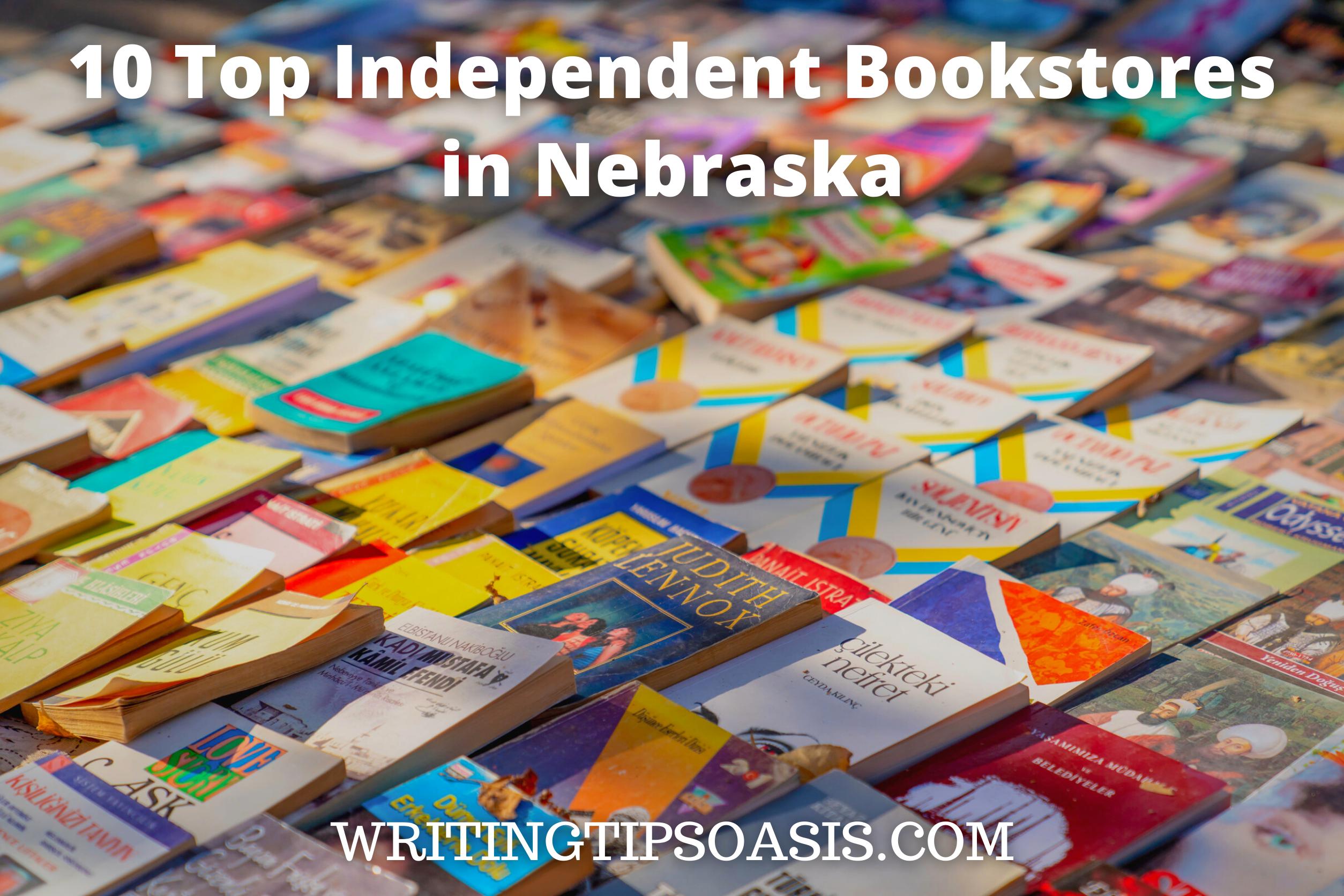 independent bookstores in Nebraska