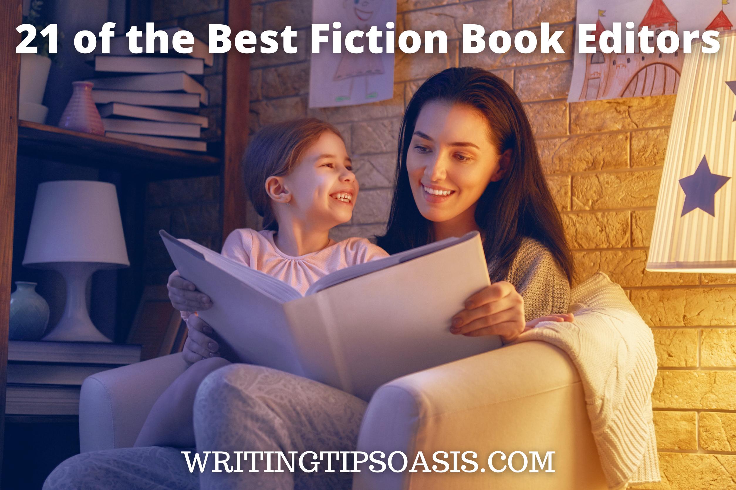 best fiction book editors