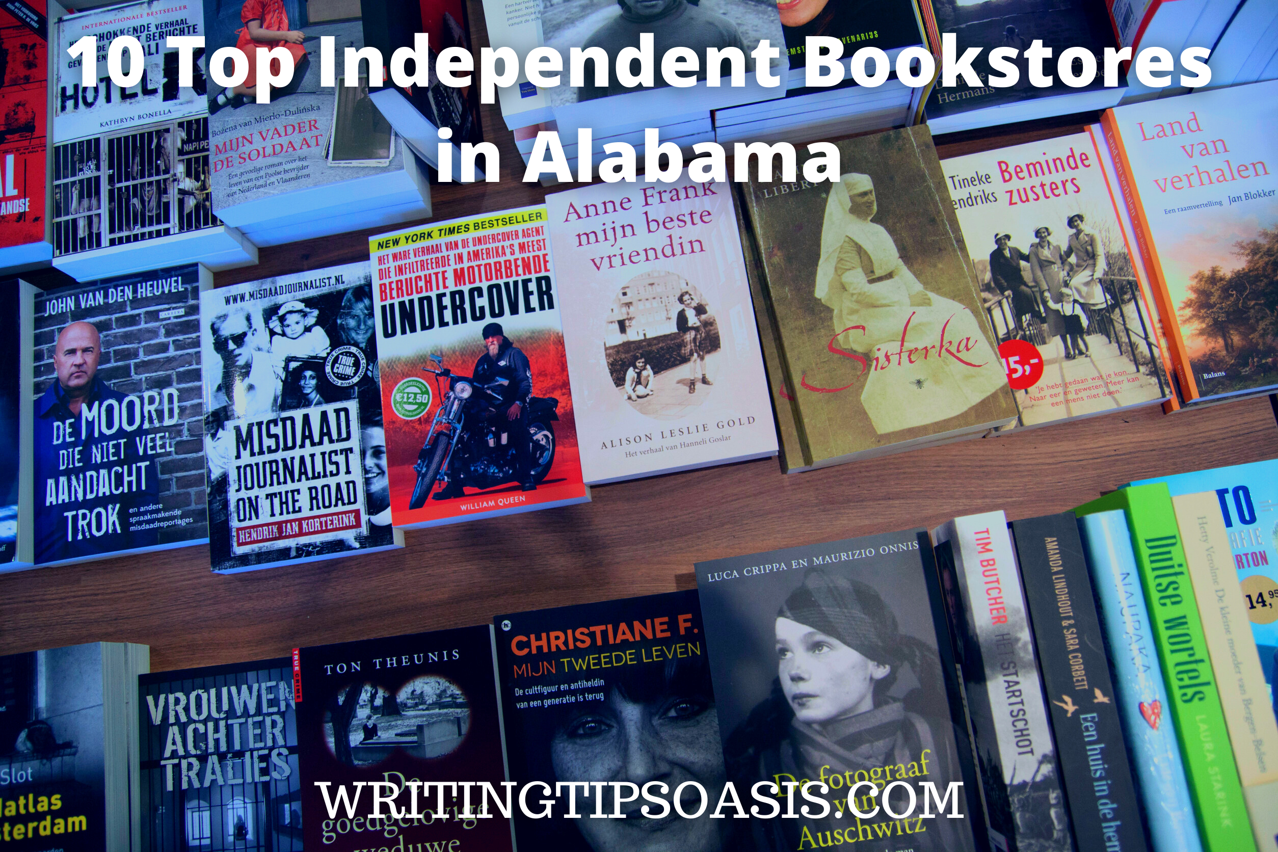 independent bookstores in Alabama