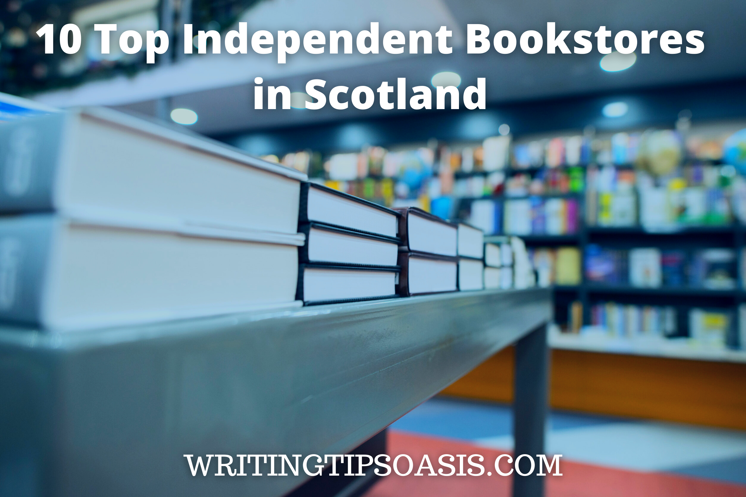 independent bookstores in Scotland